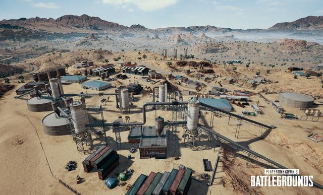 《绝地求生》测试服更新 沙漠地图增加建筑及掩体