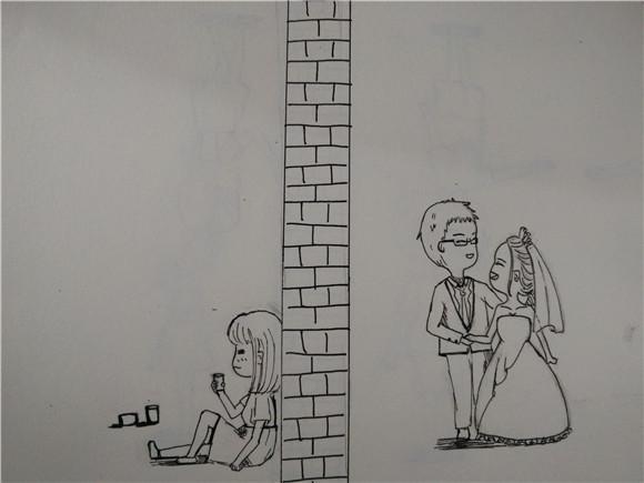 LOL 画漫画表白却被