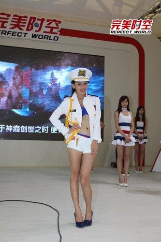 """完美时空CJ美女""""制服诱惑"""""""