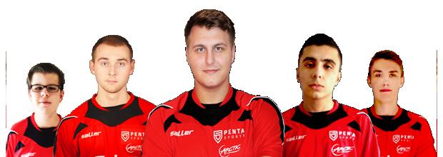 CFS第三赛季:欧洲PENTA Sports 战队介绍
