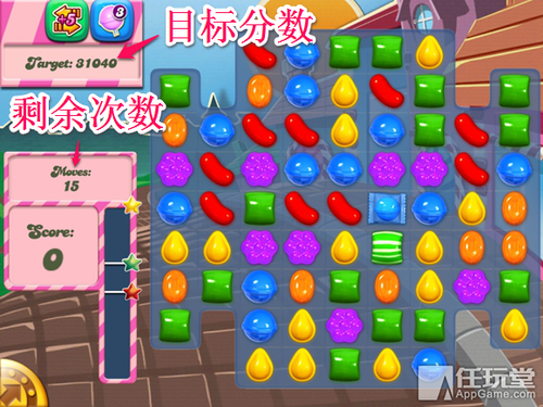 Candy crush Saga level type