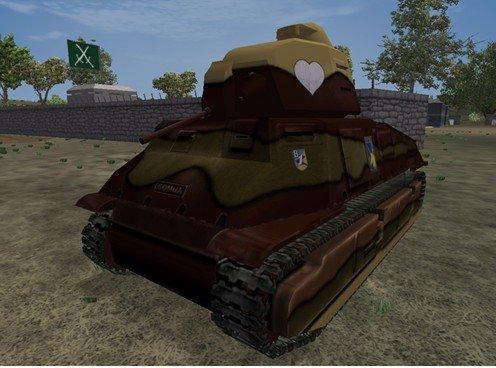 《激战海陆空》模拟二战装甲原型