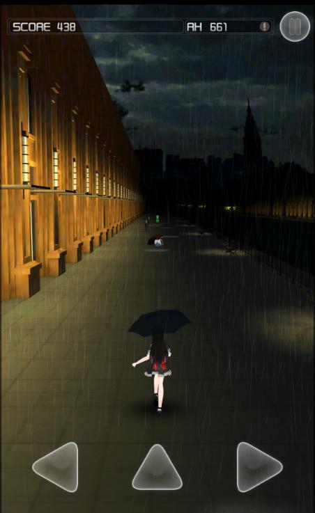 《下雨了》评测:甜美少女雨景无尽跑酷