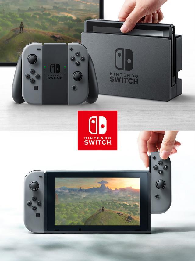 任天堂公布新一代游戏机Nintendo Switch