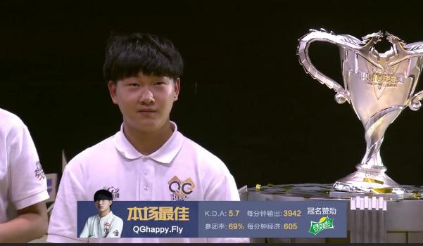 【第4局战报】露娜不知火舞操作亮眼 QG再取胜利拿下冠军