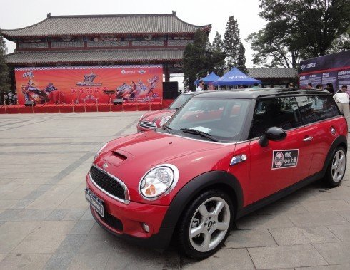 《QQ飞车》SSC天津站 宝马mini来相伴
