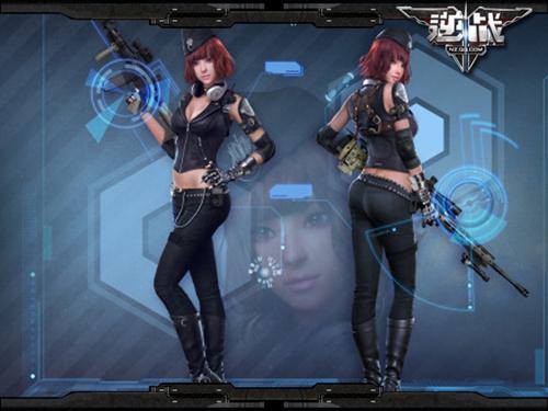 逆战》美女军团再添新角色-青   逆战官方网站 - 腾讯游戏   高清图片