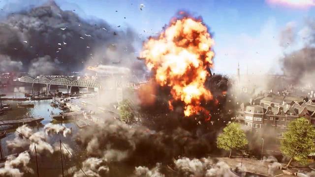 《战地5》出产特价而沽宣传片颁布匹 叁栖父亲战枪林弹雨水