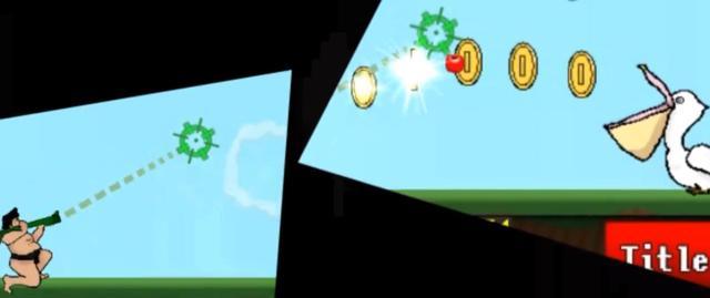 cleanings旗下一款叫《相扑与鹈鹕》的游戏