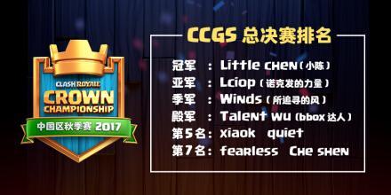 《皇室战争》CCGS中国区总决赛:携手进击伦敦!