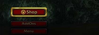 魔兽5.4.7测试服在角色选择界面增加商城按钮