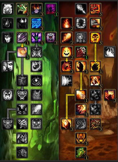 巫妖王之怒:毁灭术士天赋装备输出手法详解
