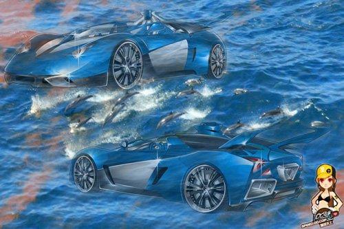 《QQ飞车》领略白勇太座驾的时尚风情