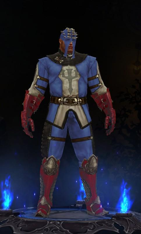 暗黑3创意幻化:圣教军变美国队长