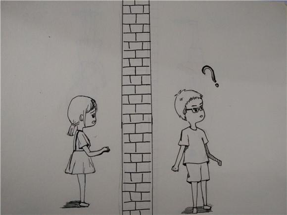 简单的手绘表白图