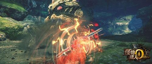 怪物猎人OL双刀武器招式教学 六种挥砍动作按键指引