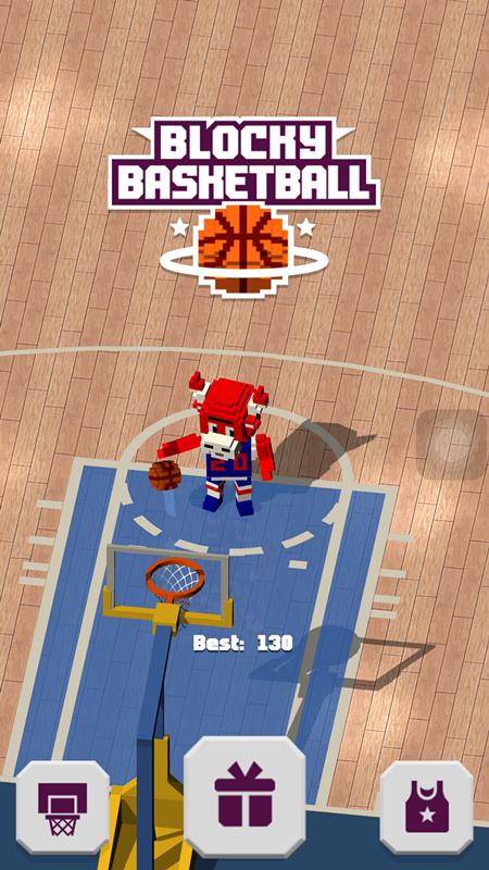 《方块篮球》评测:玩法单一,有待丰富!