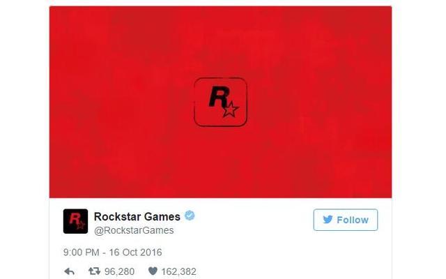 R星只发了一张红色图片 结果整个游戏圈都炸了