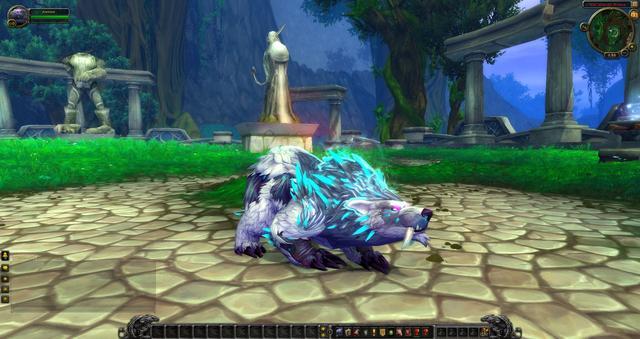魔兽世界7.0前瞻:最新德鲁伊熊和猫形态预览