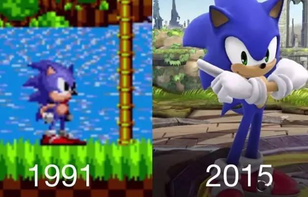 30年!游戏角色进化史