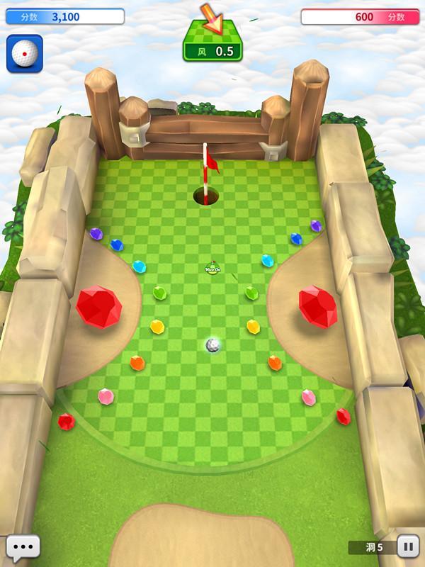 《迷你高尔夫之王》评测:实时匹配高尔夫对战