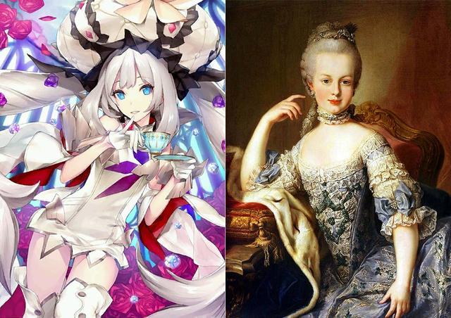 日本手游二次元化历史人物