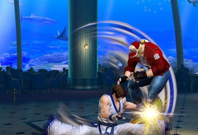 《拳皇14》高清截图公开 战斗特效爆表