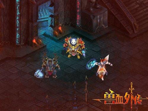《兽血外传》战神 一个职业三种形态