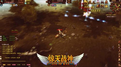 噬血战神微端网游《惊天战神》竞技场