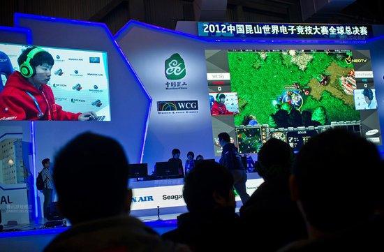 2012中国昆山世界电子竞技大赛现场