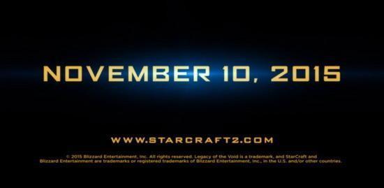 《星际2:虚空之遗》国服过审 有望全球同步