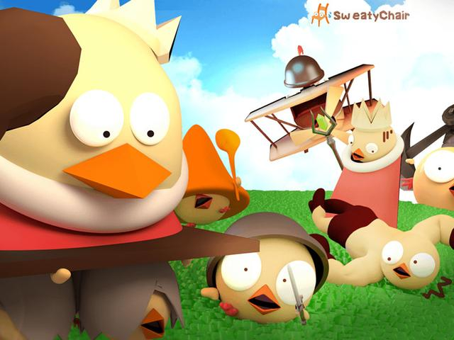 《攻堡鸡兵》评测:与众不同的立体塔防!