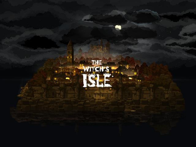 英语渣的噩梦!像素解谜小品《女巫之岛》上线