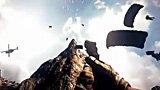 国外牛人拍摄《战地3》64人极限高空跳伞