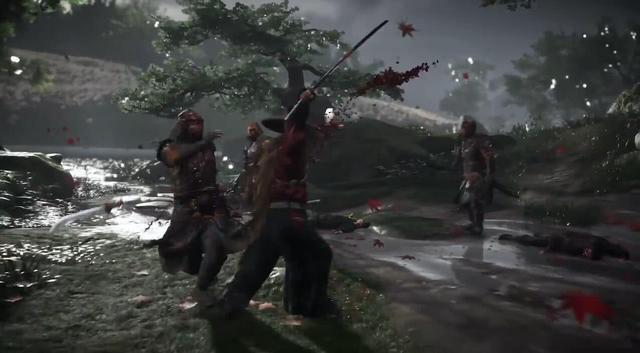 E3 2018:《对马岛之鬼》实机演示公布 画质惊艳战斗风格独特