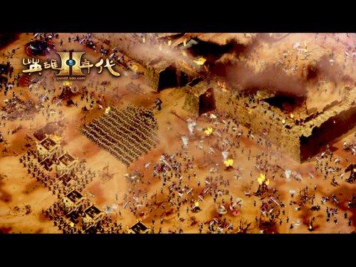 《英雄年代2》国战封测当日场面火爆