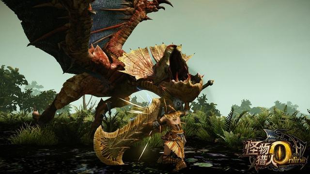 怪物猎人OL武器之大剑介绍 一刀两断