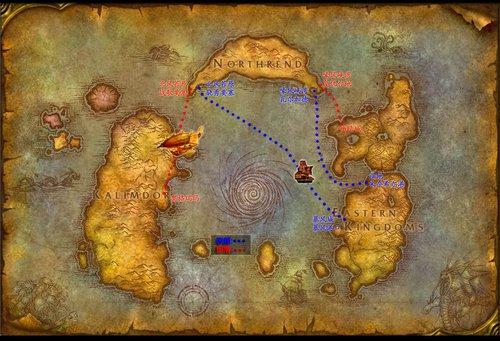 远征巫妖王必读 如何前往诺森德大陆