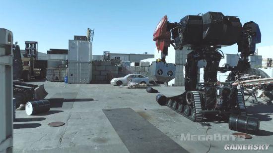 真实版机甲大战:千万打造的机器人居然…