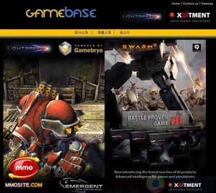 韩Gamebase公司购买Gamebryo3D游戏引擎