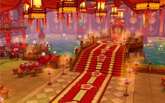 中式婚礼礼堂