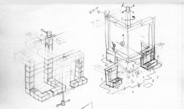 《纪念碑谷》游戏设计稿