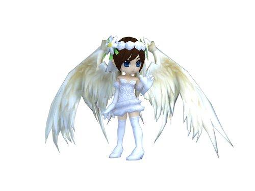 《东游记》天使翅膀  让你华丽又强大