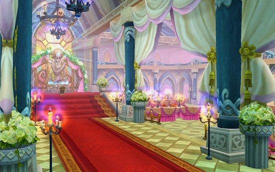 西式婚礼礼堂