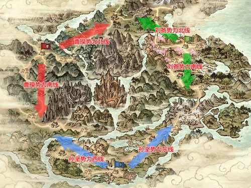 《三国群英传2》丰富成长路线选择