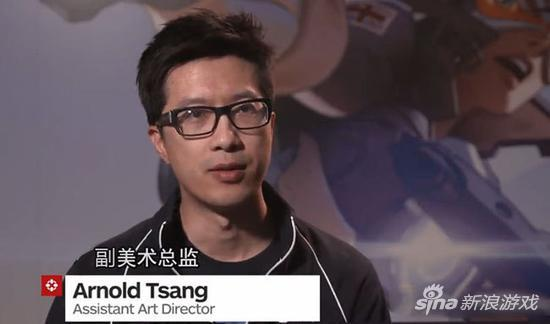 惊了! 《守望先锋》人设竟出自华裔画师之手