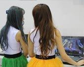 美女SG试玩 体验《灵魂战神》RTS+ARPG双模玩法
