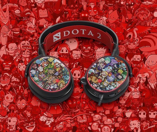 赛睿发布Arctis5 Dota2限量版游戏耳机