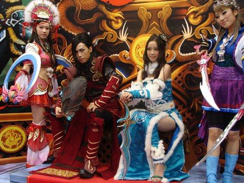 《大唐无双》参展第八届ChinaJoy