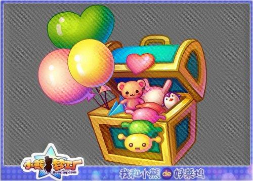 小熊梦工厂 快乐过六一宝箱添惊喜